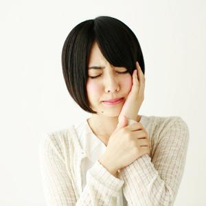 顎の関節の痛み